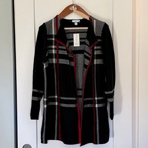 NWT Charter Club Open Front Cardigan